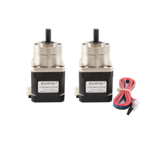 Image 2 - Free Shipping Nema17 17HS4401S PG5.18:1 Extruder Gear Stepper Motor Ratio Optional Planetary Gearbox Step  Geared for 3D Printer