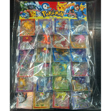 TAKARA TOMY 24pcs/set  Pokemon Dolls Cards Pocket Monster Figures Model Toys Kids Gifts Pikachu Action Figure 5cm