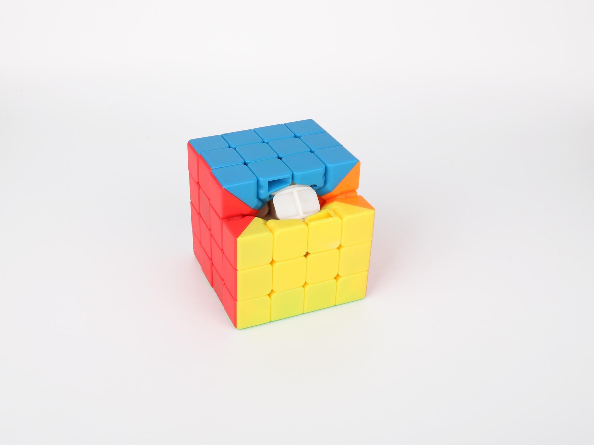 HelloCube Mofangjiaoshi Meilong cubing classroom MF4 4x4 magic cube stickerless 4x4x4 speed moyu cube kids toys educational 7