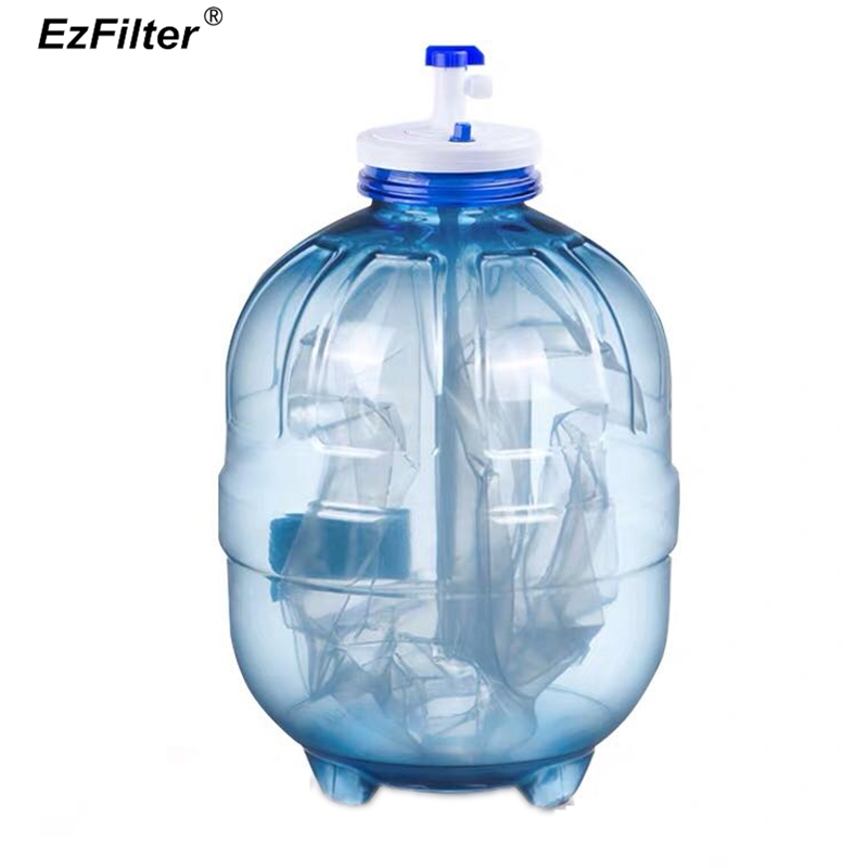3.2 Gallon Pressurized Water Storage Tank with Ball Valve for Reverse Osmosis RO Systems Water Filter System