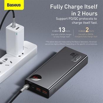 Внешний аккумулятор Baseus, 65 Вт, 20000 мАч 5