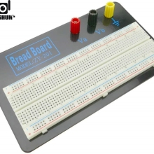 ZY-201 Electronic Prototype Breadboard Breadboard from 830 Connection Points