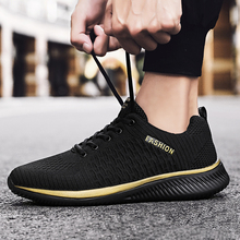 Men Casual Shoes Lac-up Men Shoes Lightweight Comfortable Breathable Walking Sneakers Tenis masculino Zapatillas Hombre cheap PUAMSS Cotton Fabric CN(Origin) Lace-Up Fits true to size take your normal size Basic Spring Autumn Men Sneakers Gingham