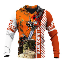 Sweatshirt Zipper Hoodie Chainsaw Unisex 3D Beautiful Casual All-Print Autumn/winter
