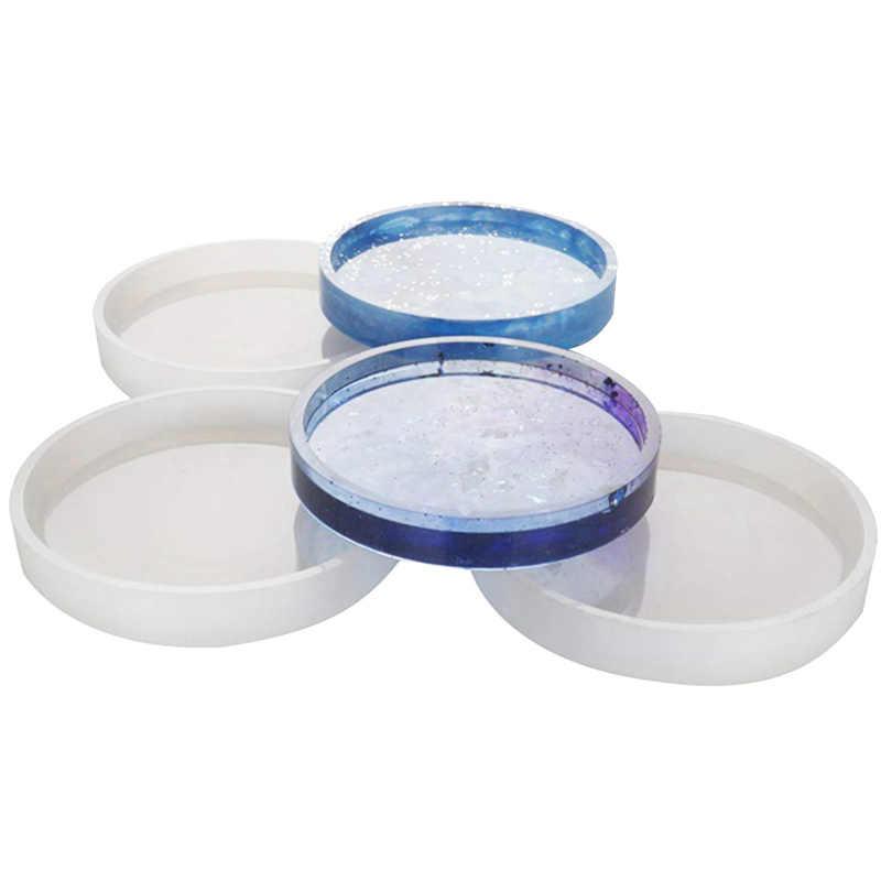 Haudang Lot de 5 moules /à g/âteau en forme de cercle 8 cm