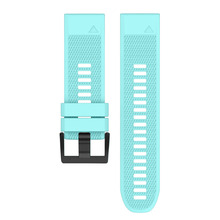Quick Release Easy Fit Silicone Replacement Watch Band for 26mm Garmin D2 Charlie/Descent Mk1 LHB99