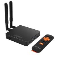 Ugoos am6 amlogic s922x smart android 9.0 caixa de tv ddr4 2 gb ram 16 gb rom 2.4g 5g wifi 1000 m lan bluetooth 4 k hd ota media player