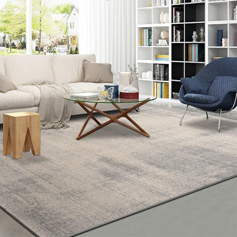 Polypropylène nordique tapis plus épais salon chambre Ins canapé moderne Table basse tapis américain Europe maison luxe tapis