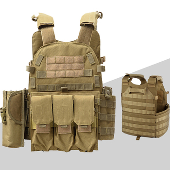 Outdoor Airsoft Paintball 6094 Tactical Vest Hunting CS Protection Body Armor Military Amry Combat Training Vest protective vest for cs wargame 4 colors tactical vest military equipment airsoft hunting vest training paintball airsoft combat