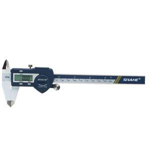 Image 2 - IP54 방수 150 mm 전자 버니어 캘리퍼스 마이크로 미터 전자 캘리퍼스 스테인레스 스틸 Messschieber Paquimetro 디지털