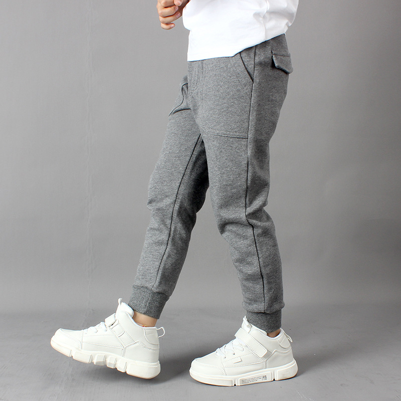 Boys sweatpants new style boys pants fashion casual children's pants young children boys clothing 6 8 10 12 14 Y kids clothes 3