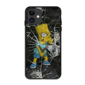 Image 5 - Fashion Luxury Simpson black Soft Silicone TPU Cover Phone Cases for iPhone 11 Pro MAX SE 2020 5S 6SPlus 7 8 Plus X10 XR XS MAX