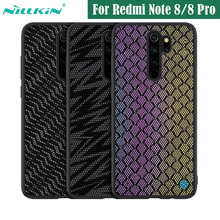 Case for Xiaomi Redmi Note 8 Pro Cover NILLKIN Twinkle Case Polyester Mesh Reflective Back Cover for Redmi Note8 global version