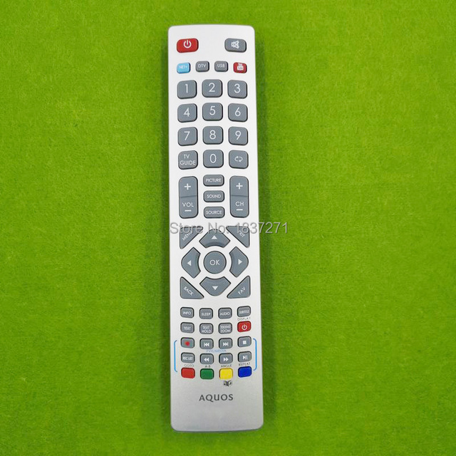 Télécommande originale pour SHARP LC 32CFF6001K LC 40CFF6001K LC 43CFF6001K LC 48CFF6001K LC 49CFF6001K LC 43SFE7451K lcd tv