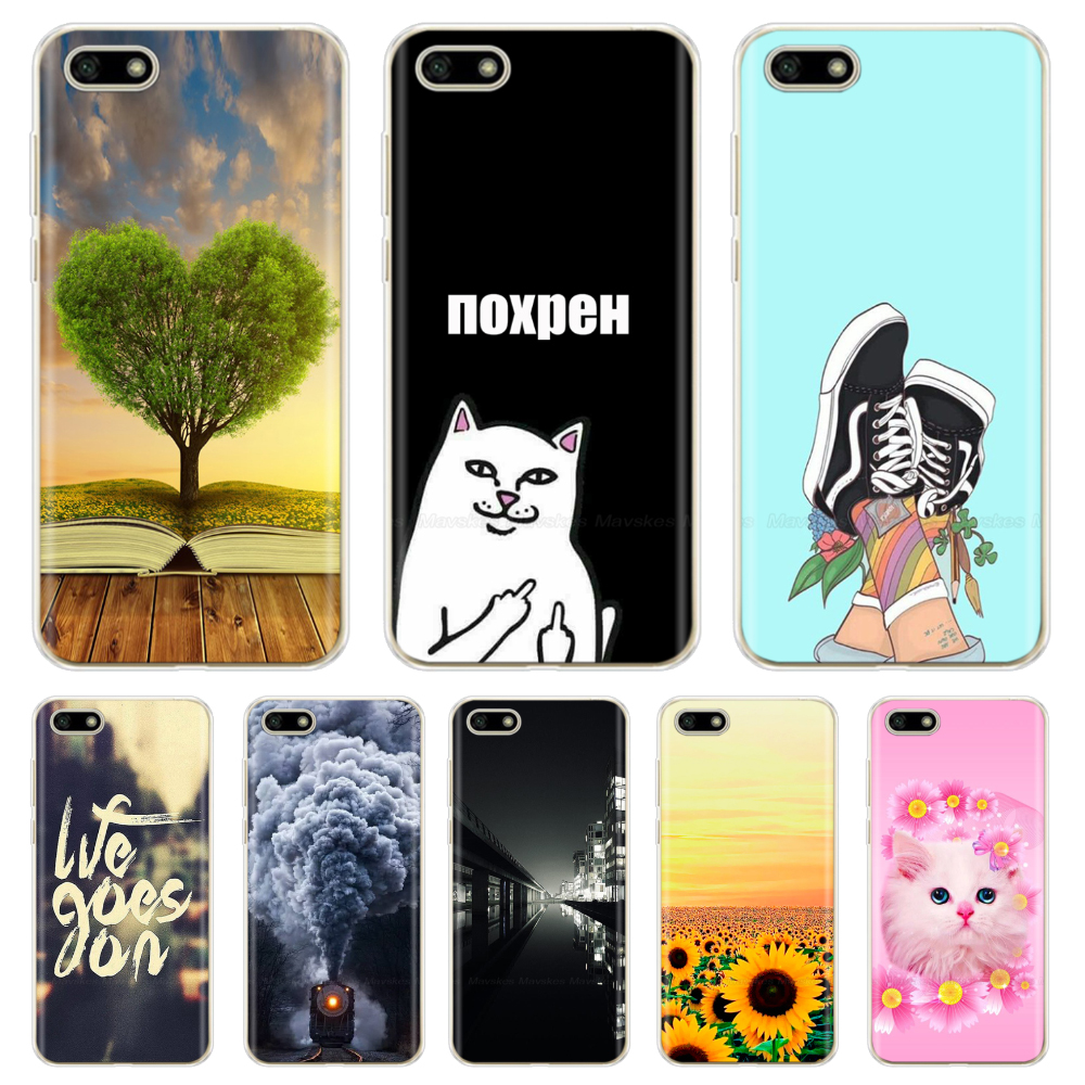 Silicone Case For Huawei Y5 2018 Case 5.45