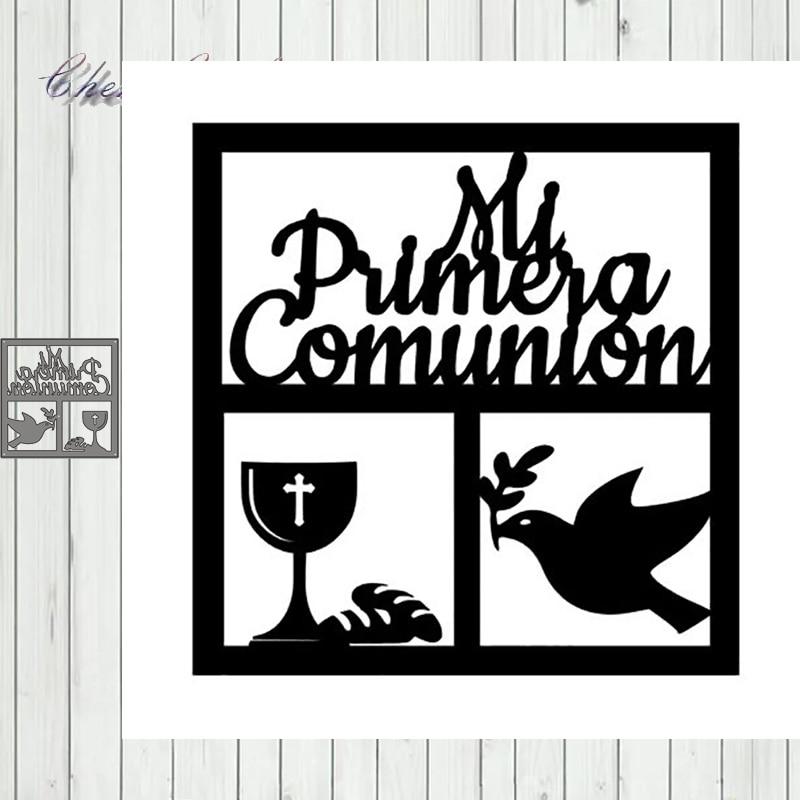 Metal Cutting Dies Stencils Peace Dove Comunion For DIY Album Paper Card Decorative Craft Die Cuts