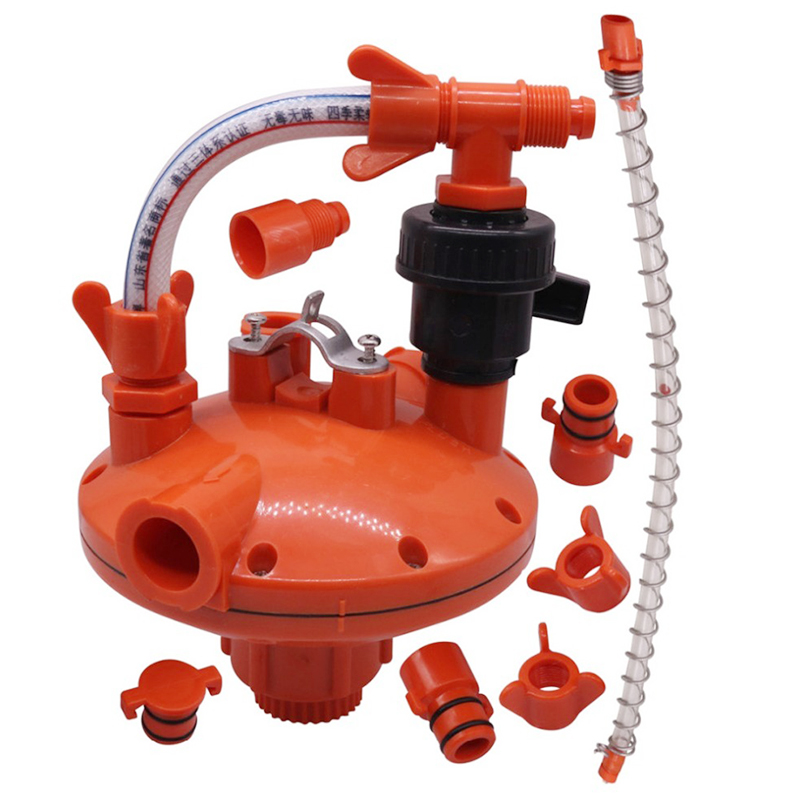 1 pcs Culture Water Pressure Regulator Farm Animal Supplies Feeding Watering Supplies Poultry Feeding Supplies Easy To Use