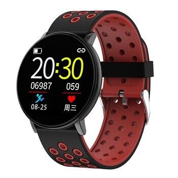 Reloj inteligente FULL-W8 IP67 a prueba de agua Smartwatch ritmo cardíaco presión arterial Seguimiento de Fitness pulsera inteligente