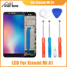 PINZHENG AAAA Original LCD For Xiaomi A1 Display Touch Screen Digitizer Replacement For Xiaomi A1 LCD Screen for imac 21 5 2009 lm215wf3 sl a1 sla1 lcd display screen