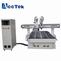 Cheap China Professional Production Woodworking 1325 Cnc Router with cut saw for wood plate