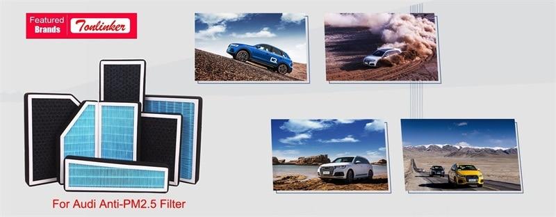 Фильтр для салона автомобиля 2 шт в комплекте audi a4 b8 avant