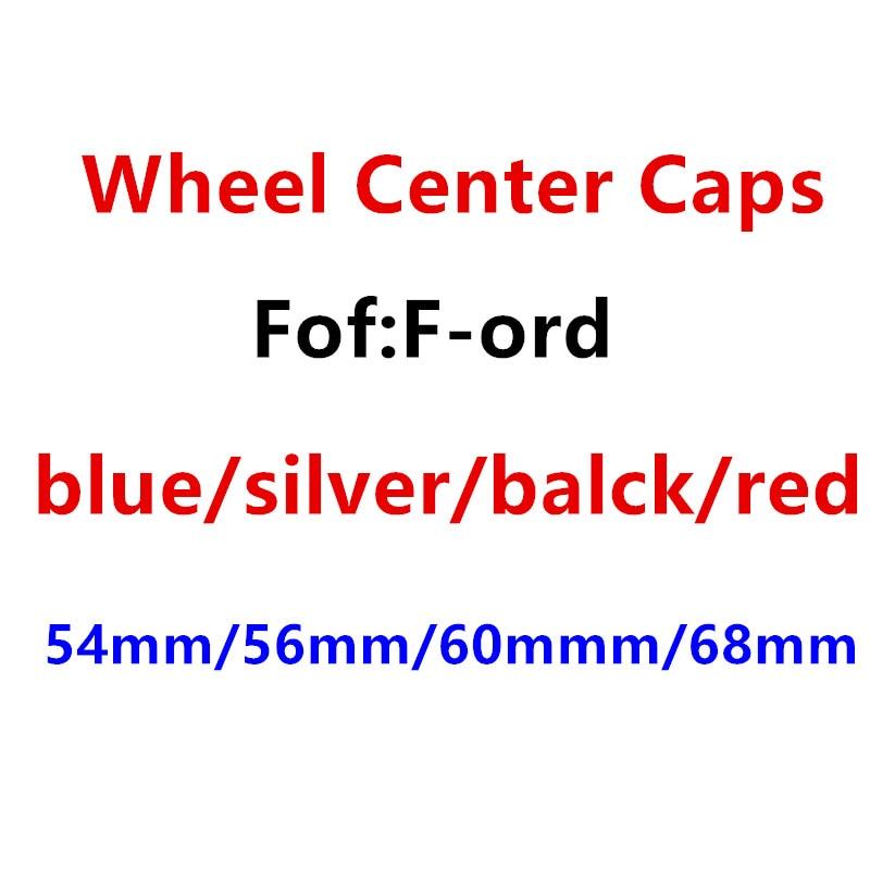 4 шт. 54 мм 56 мм 60 мм 68 мм синие/черные/Серебристые/красные колпачки на центр колеса автомобиля колпачки на ступицы значков эмблема аксессуары ...