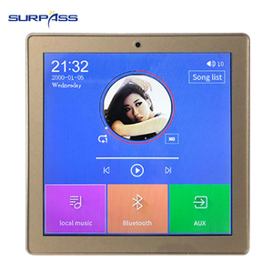 Image 5 - 스마트 홈 멀티미디어 미니 블루투스 벽 오디오 스크린 앰프 24 채널 무선 음악 센터 사운드 cenima 시스템 태블릿 usb