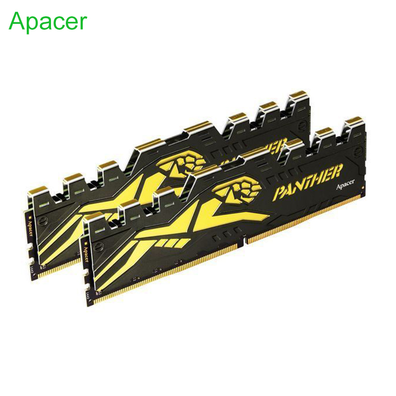 Apacer PANTHER DDR4 Gaming Memory Module 8GB 2666Mhz 16GB 3000Mhz 1.2V desktop dimm High Compatible for AMD intel XMP 2.0 image