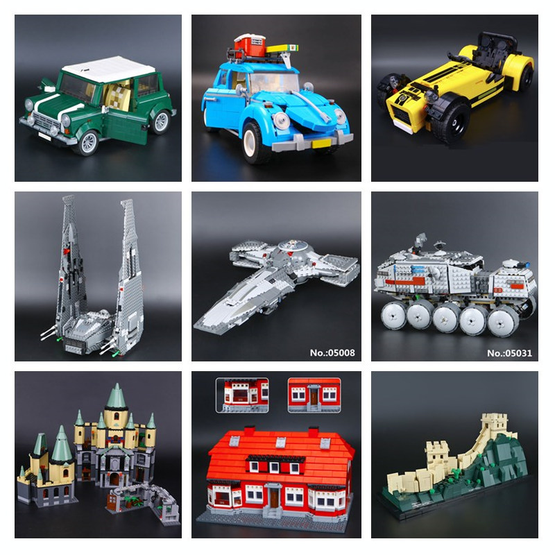 H&HXY IN STOCK 21002 21003 16029 16052  05029 05090 17006 17010 Building Block Bricks Toys