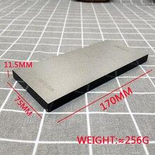 17*7.5 سنتيمتر الماس بار 240 400 600 1000 شحذ حجر تلميع شحذ كتلة المشحذ سكين أداة الخشب عدم الانزلاق قاعدة من الإكريليك