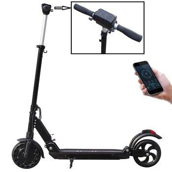 Patinete eléctrico Smart App, Patinete eléctrico Mini, Scooter plegable, para adulto, con batería de 40km, 8,5 pulgadas