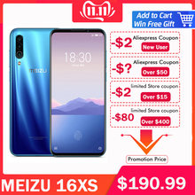 "Global ROM Meizu 16XS 6GB RAM 16 XS Smart Phone Snapdragon 675 6.2"" 48MP Triple Camera AI Front 16MP 4000mAh GPS wifi(China)"