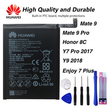 Original Huawei HB396689ECW phone battery For Huawei Mate 9 / Mate 9 Pro Honor 8C / Y7 Pro 2017 Y9 2018 Enjoy 7 Plus 4000mAh original huawei hb396689ecw phone battery for huawei mate 9 mate 9 pro honor 8c y7 pro 2017 y9 2018 enjoy 7 plus 4000mah