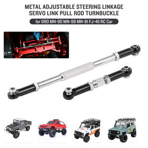 Turnbuckle MN-90 Pull-Rod Servo-Link Crawler Adjustable Rc-Car-Rock Metal for D90 Mn-90/Mn-99/Mn-91/..
