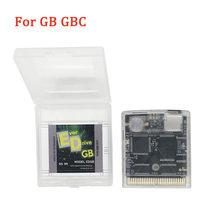 EverDrive OS V4 EDGB tarjeta tipo cartucho de juego para Gameboy GB DMG GBA GBC GBASP GBL de ahorro de energía tarjeta tipo cartucho de juego con tarjeta de 4G tf