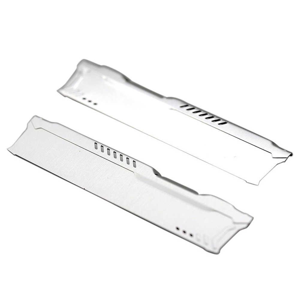 1 pair E/&M Desktop Computer Aluminum alloy RAMs Heatsink Radiator For Memory Cooler Cooling Vest Radiator DDR//DDR2//DDR3//DDR4