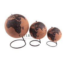 Cortiça globo marcador global mapas casa escritório decoração mapa do mundo mapa geografia globo