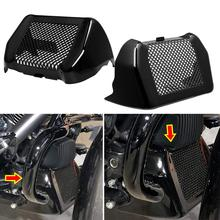 New Motorcycle Oil Cooler Cover Kit With Bracket For Harley Touring Road King Street Glide Freewheeler FLTRXS FLHR 2017-2020 19