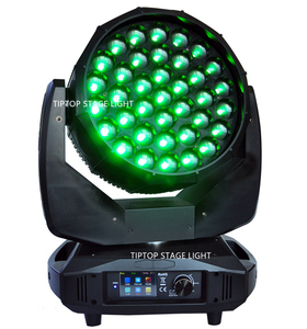 Image 4 - TIPTOP Stage Light 37x15W RGBW 4in1 K20 Big Bee Eye LED Moving Head Beam Wash 2IN1 Light B Eyes Spot Light Pixel Color Change