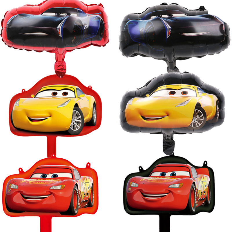 Cars Lighting Mcqueen Mater Foil Balloons S-E Shower Birthday Party Supplies lot