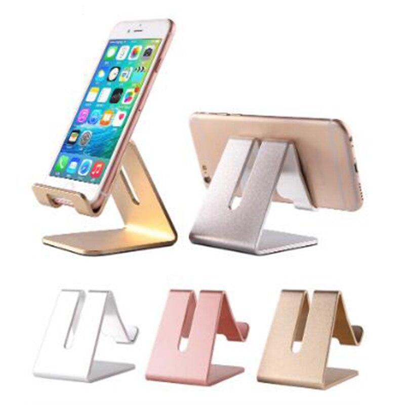 Universal Desktop Tablet Stand, Shockproof Metal Phone Holder, Durable Aluminum Mobile Phone Holder, Telephone Stand