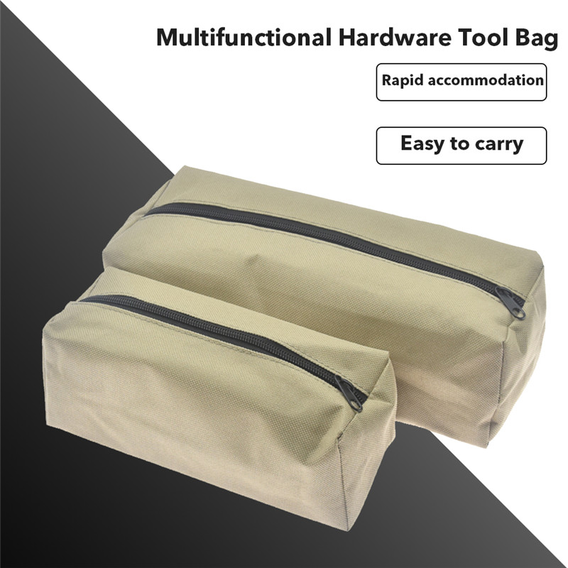 Portable Tools Storage Bag Zippered Waterproof Travel Tools Bag Multifunctional Hardware Tool Bag For Screwdriver Pliers Knife