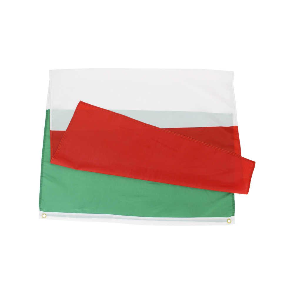 Flaglink 3x5fts 90*150cm zielony biały czerwony ita it włochy flaga włoska do dekoracji