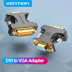 Vention DVI to VGA Adapter Cable DVI-I 24+5 Male to VGA Female Converter 1080P For HDTV Projector Monitor Laptop VGA to DVI