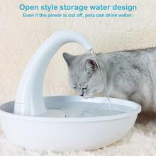 Automatic Swan Shape Pet Cat Dog Water Dispenser Feeding Water Flowing Fountain Cat Drinking Bowl Quiet Electric Water Dispenser