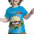 Детская Пижама с Zings серии 7 3D печати t-рубашка летняя детская Superzings футболки для маленьких мальчиков и девочек с рисунком для подростков с ри...