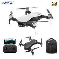 JJRC X12 Anti-shake 3 ejes Gimble GPS Drone WiFi FPV 1080P HD 4K cámara de Motor sin escobillas plegable Quadcopter del H117s Zino