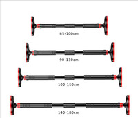 Large Door Horizontal bar Steel Adjustable Training Bars For Home Sport Workout Pull Up Arm Training Sit Up Bar Fitness Equipm