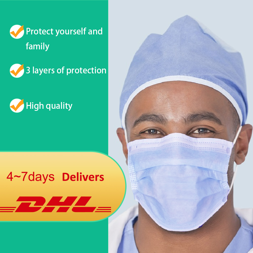 Face Mask Disposable DHL FREE SHIPPING 3 layers Mouth Mask Anti Dust Mouth Mask Windproof Mouth-muffle Anti Droplets Face Masks