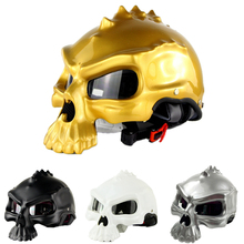 Masei 489 Motorcycle Helmet cascos punk Para moto skull Capacetes Novelty